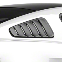 MMD Classic Quarter Window Louvers - Matte Black (10-14 All) - MMD 71316-99
