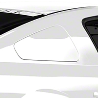 MMD GT350 Style Window Covers - Unpainted (05-09 All) - MMD 71318-00