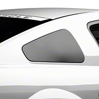 MMD GT350 Style Window Covers - Matte Black (05-09 All) - MMD 71318-99