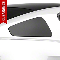MMD GT350 Style Window Covers - Matte Black (10-14 All) - MMD 71319-99