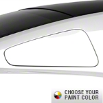 MMD GT350 Style Window Covers - Pre-Painted (10-14 All) - MMD 71319