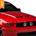 Cervini's Ram Air Hood - Unpainted (05-09 GT, V6) - Cervini's 1171