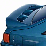 Cervini's Cobra Style Rear Wing - Hatchback - Unpainted (79-93 All) - Cervini's 206