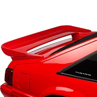 Cervini's Saleen Rear Wing - Hatchback - Unpainted (79-93 All) - Cervini's 200