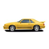 Cervini's Saleen Style 4 Piece Body Kit - Unpainted (87-90 LX) - Cervini's 9013