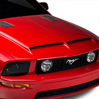 Cervini's Ram Air Type IV Hood - Unpainted (05-09 GT, V6) - Cervini's 1187