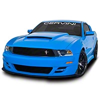 Cervini's Stalker Body Kit - Unpainted (10-12 GT, V6) - Cervini's 9051