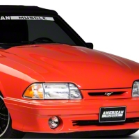 Cervini's 2 in. 2000 Cobra R Style Hood - Unpainted (87-93 All) - Cervini's 155