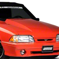 Cervini Lift-Off 2.5in Cowl Hood - Unpainted (87-93 All) - Cervini's 105LO