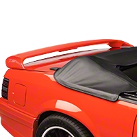 Cervini's Sport Rear Spoiler - Coupe/Convertible - Unpainted (79-93 All) - Cervini's 204