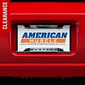License Plate Frame - Mustang Horsepower (79-14 All) - AM Exterior 6521DL