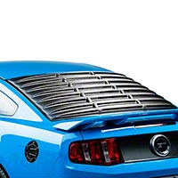 Rear Window Louvers - Textured ABS (05-14 All)