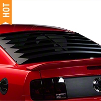 Willpak Rear Window Louvers - Smooth Aluminum (05-14 All) - Willpak 10612