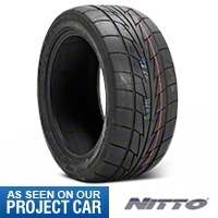 NITTO Extreme Performance NT555R Drag Radial - 285/40-18 (05-14 All) - NITTO 180740