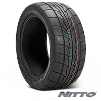 NITTO Extreme Performance NT555R Drag Radial - 245/50-16 (79-04 All) - NITTO 180480