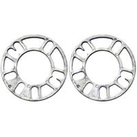 Wheel & Brake Spacers - 1/8in - Pair (79-93 All) - AmericanMuscle Wheels 76139