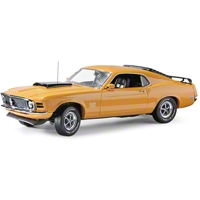 Diecast 1/24 Scale 1970 Boss 429 Mustang - Franklin Mint Limited Edition - AM Accessories B11E846