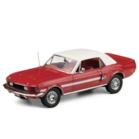 Diecast 1/24 Scale 1968 High Country Special Mustang - Franklin Mint Limited Edition