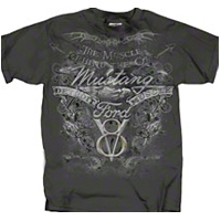 The Muscle Behind the Car T-Shirt - Mens - AM Accessories 77268