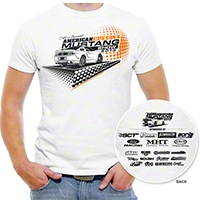 2013 5th Annual American Muscle Car Show T-Shirt - AM Accessories 77276