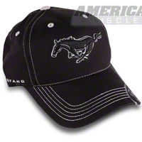 Running Pony Hat - Black - AM Accessories 75140