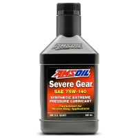 AMSoil Severe Gear Synthetic Gear Lube - 75w140 - AMS Oil SVOQT-CA