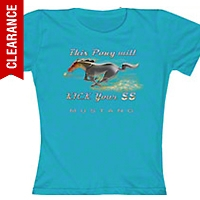 This Pony will kick your SS T-shirt - Women - AM Accessories FMPKY-TU