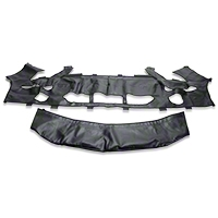 Covercraft Colgan Custom 2-Piece Bra - Carbon Fiber (07-09 GT500) - Covercraft BC3397CF