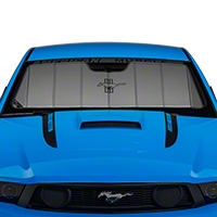 Covercraft UVS100 Heat Shield - Tri-Bar Pony Logo (10-12 All) - Covercraft UF11112F-FD-27