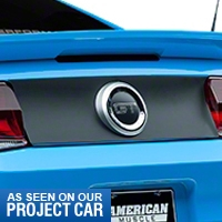 Magnetic Deck Lid Blackout Panel (10-12 All) - AM Exterior 79999