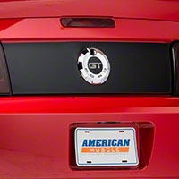 Magnetic Deck Lid Blackout Panel (05-09 All) - AM Exterior 80000