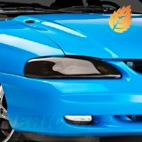 Smoked Headlight Covers (94-98 All) - AM Exterior 80105