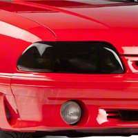 Smoked Headlight Covers (87-93 All) - AM Exterior 80106
