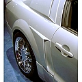 Xenon Mustang Side Scoops - Unpainted (05-09 Pair) - AM Exterior 12127||12128