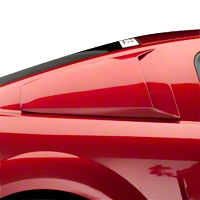 Xenon Quarter Window Scoops - Unpainted (05-14 All) - Xenon 12760