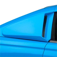 Xenon Quarter Window Scoops - Unpainted (94-98 All) - Xenon 12740