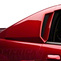 Xenon Quarter Window Scoops - Unpainted (99-04 All) - Xenon 12710
