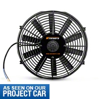 Mishimoto 14 in. Performance Slim Electric Radiator Fan (79-14 All) - Mishimoto KIT||KIT