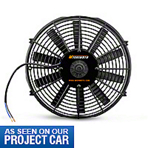 Mishimoto 14in Performance Slim Electric Radiator Fan (79-14 All) - Mishimoto KIT