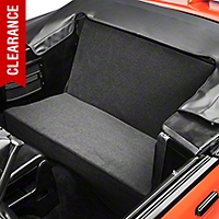 Rear Seat Delete Kit - Convertible - Gray (83-93 All) - AM Interior GRAYVERT