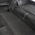 Rear Seat Delete Kit - Hatchback - Black (79-93 All)