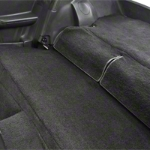 Rear Seat Delete Kit - Hatchback - Black (79-93 All) - AM Interior BLACKHATCH