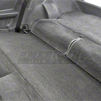 Rear Seat Delete Kit - Hatchback - Gray (79-93 All)