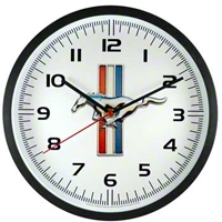 Mustang Running Pony Wall Clock - Taxor 12209
