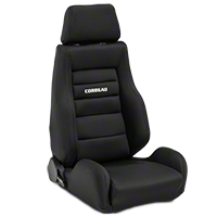 Corbeau GTS II Racing Seat - Black - Pair (79-14 All) - Corbeau 20301||kit
