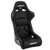 Corbeau FX1 Pro Racing Seat - Black (79-14 All) - Corbeau 29501P