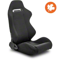 Black Racing Seats - Pair (79-14 All) - AM Interior CPA1013FBK