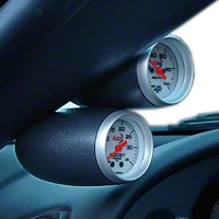 Speed of Sound Dual Gauge Pillar - Coupe - Dark Charcoal (99-03 All) - Speed of Sound 1M1C2C