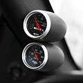 Speed of Sound Dual Gauge Pillar - Coupe - Dark Charcoal (05-09 All) - Speed of Sound 1M3C2C