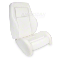 Replacement Seat Foam - High Back w/ Knee Bolster (84-86 SVO) - AM Restoration 43-73707